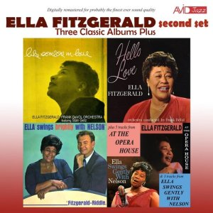 Ella Fitzgerald的專輯Three Classic Albums Plus (Like Someone in Love / Hello Love / Ella Swings Brightly with Nelson) [Remastered]