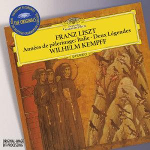 Wilhelm Kempff的專輯Liszt: Années de Pèlerinage, Italie (Excerpts); Gondoliera; Deux Légendes