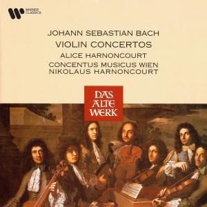 Nikolaus Harnoncourt的專輯Bach: Violin Concertos