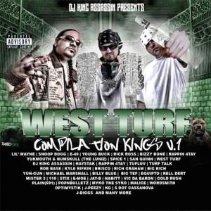 Album West Turf: Compliation King Vol. 1 from DJ King Assassin