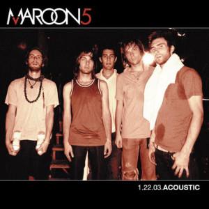 Maroon 5的專輯1.22.03 Acoustic
