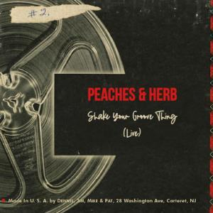 Album Shake Your Groove Thing (Live) from Peaches & Herb