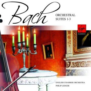 Album Bach: Orchestral Suites Nos 1-3 from Philip Ledger
