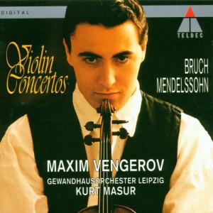 Album Bruch & Mendelssohn : Violin Concertos from Maxim Vengerov