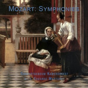 Album Mozart: Symphonies from Concertgebouw Chamber Orchestra