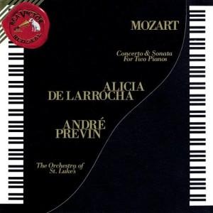 Alicia de Larrocha的專輯Mozart: Concerto for Two Pianos and Orchestra in E-Flat Major, K. 365 & Sonata for Two Pianos in D Major, K. 448