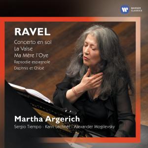 Album Ravel: Concerto en sol, La Valse & Ma mère l'Oye (Live) from Martha Argerich