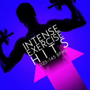 Album Intense Exercise Hits (125-145 BPM) from High Intensity Exercise Music