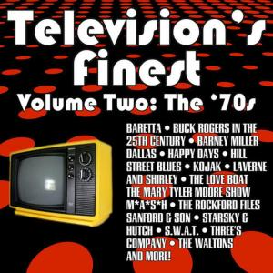 Various Artists的專輯Television's Finest: Vol. 2 - The 70s