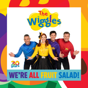 Album We're All Fruit Salad! from The Wiggles