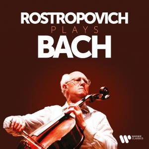 Album Rostropovich Plays Bach from Mstislav Rostropovich
