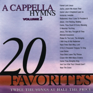 Album A Cappella Hymns, Vol. 2 from 演奏曲