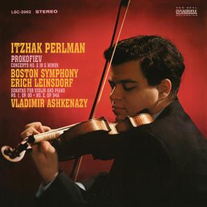 Itzhak Perlman的專輯Prokofiev: Violin Concerto No. 2 in G Minor, Op. 63 &  Sibelius: Violin Concerto in D Minor, Op. 47