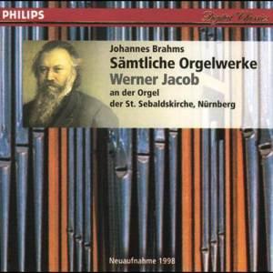 Werner Jacob的專輯J. Brahms - Sämtliche Orgelwerke
