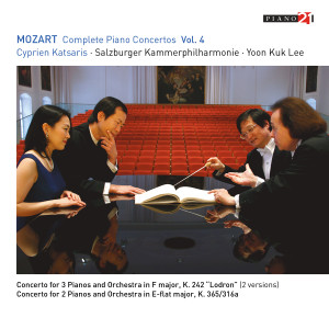 Listen to Concerto for Two Pianos and Orchestra in E-Flat Major, K. 365/316a: II. Andante song with lyrics from Salzburger Kammerphilharmonie