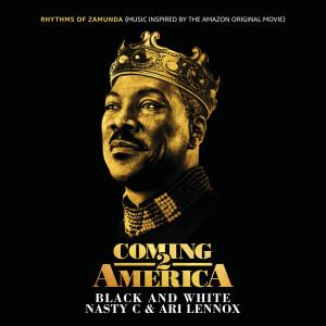 """อัลบัม Black And White (From """"Rhythms of Zamunda"""" - Music Inspired by the Amazon Original Movie: """"Coming 2 America"""") ศิลปิน Ari Lennox"""