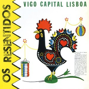 Album Heroes de los 80. Vigo capital Lisboa from Os Resentidos