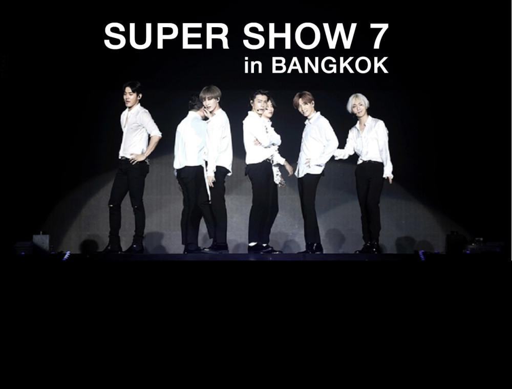 """เท่ ตลก มัน ซึ้ง ครบทุกรสไปกับ Super Junior World Tour """"SUPER SHOW 7"""" in Bangkok"""