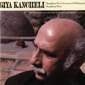 Album Giya Kancheli: Symphonies Nos. 4 & 5 from Jansug Kakhidze