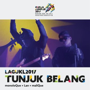 Album Tunjuk Belang (Theme Song Kuala Lumpur 2017 Sukan SEA) from Malique