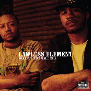 "Album Rules, Pt. 2 (12"") from Lawless Element"