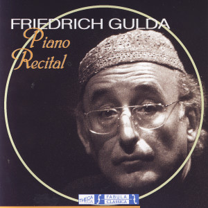 古爾達的專輯Piano Recital - Friedrich Gulda