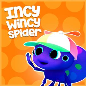 Incy Wincy Spider dari Cartoon Studio English