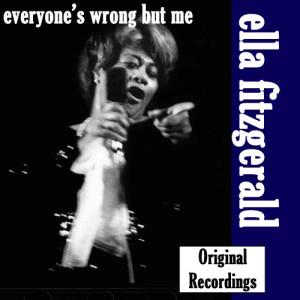 Ella Fitzgerald的專輯Everyone's Wrong But Me, Vol. 10