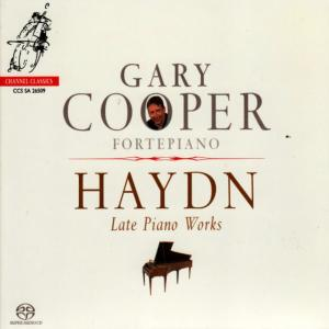 Album Haydn: Late Piano Works from Gary Cooper