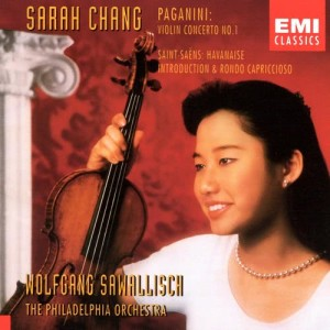 Sarah Chang的專輯Sarah Chang - Paganini & Saint-Saens Violin Concertos