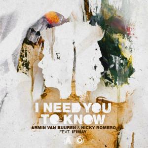 Armin Van Buuren的專輯I Need You To Know