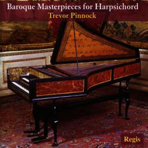 Album Baroque Masterpieces for Harpsicord from Trevor Pinnock