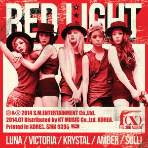 The 3rd Album 'Red Light' dari f(x)