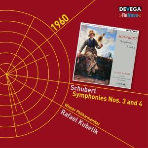 Album Schubert: Symphonies Nos. 3 & 4 from Rafael Kubelik