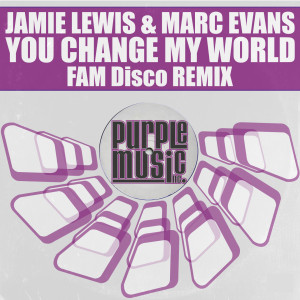 Album Change My World from Marc Evans