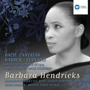 Barbara Hendricks的專輯Bach Cantatas and Barber/Copland