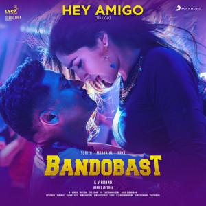 """Album Hey Amigo (From """"Bandobast Telugu"""") from Harris Jayaraj"""