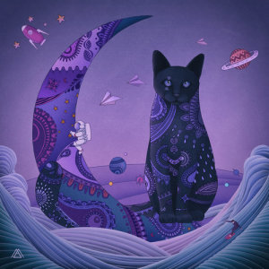 Listen to Violet Night (feat. Leeraon) song with lyrics from MAKTUB
