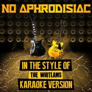 Ameritz Audio Karaoke的專輯No Aphrodisiac (In the Style of the Whitlams) [Karaoke Version] - Single