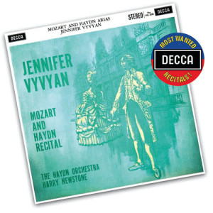Jennifer Vyvyan的專輯Mozart And Haydn Recital