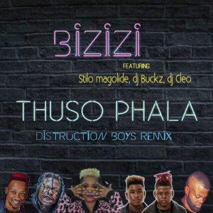 Listen to Thuso Phala Distruction Boyz Remix song with lyrics from Bizizi