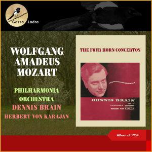 Philharmonia Orchestra的專輯Wolfgang Amadeus Mozart: The Four Horn Concertos (Album of 1954 (In memoriam Dennis Brain - 100th Birthday))
