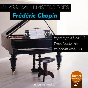 Dubravka Tomsic的專輯Classical Masterpieces - Frédéric Chopin: Impromptus Nos. 1-3 & Polonnais Nos. 1-3