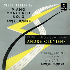 Album Prokofiev: Piano Concerto No. 3, Visions fugitives & Toccata from Samson François