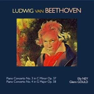 Glenn Gould的專輯Ludwig van Beethoven - Piano Concerto No.3 in C Minor Op.37 - Piano Concerto No.4 in G Major Op.58
