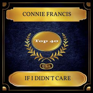 Connie Francis的專輯If I Didn't Care