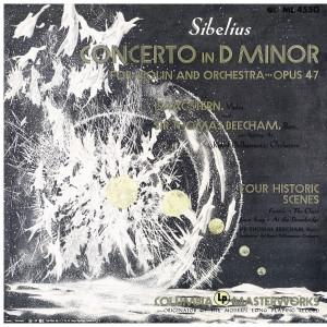 Sibelius: Violin Concerto in D Minor, Op. 47