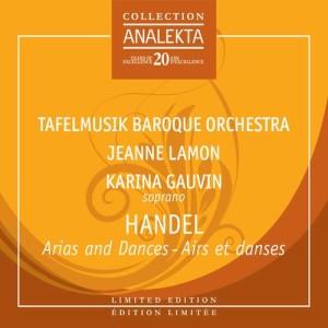 Album Handel: Arias and dances, Extraits de Agrippina et Alcina from Karina Gauvin