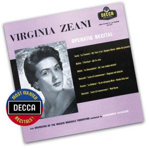 Gianandrea Gavazzeni的專輯Virginia Zeani - Operatic Recital
