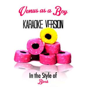 Karaoke - Ameritz的專輯Venus as a Boy (In the Style of Bjork) [Karaoke Version] - Single